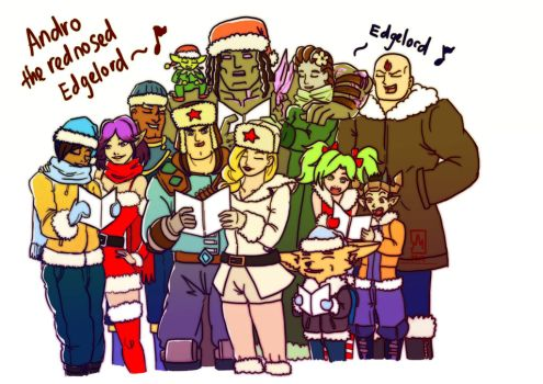 Paladins Christmas by stephenc94