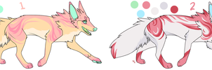-CLOSED- Canine Adoptable Batch 7 by wolfkittyadopts