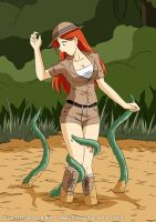 Rebecca Longale - Tentacle Quicksand #2 by A-020