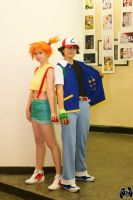 Ash and Misty by KyoudaiCosband