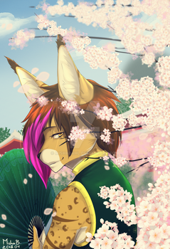 Cherry blossom by MishaBahl