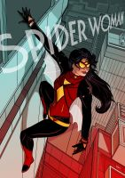 Spider Woman 2015 by PaulSizer