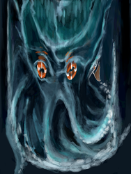 monster in the sea by kobunketsu