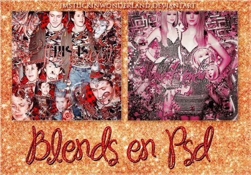 +Blends en PSD {1} by Imstuckinwonderland