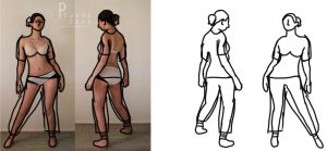 Character Design: BUILDING THE FIGURE by DeterminedHunter1778