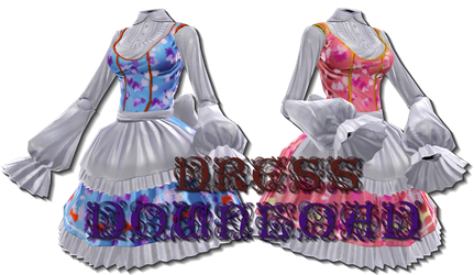 .:MMD:. [MVS] Action Figure Lolita Dress {DL} by Len11999