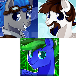 Icon commission by hikariviny