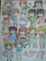 Hetalia Girls by Spirit-Okami