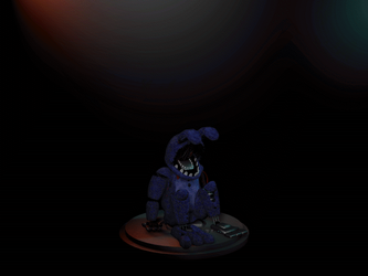 Cinema4D Withered Bonnie (+ unwithered bonnie) V2! by GaboCOart