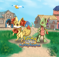 Super Mystery Dungeon Chelinka and Hana'Kohl
