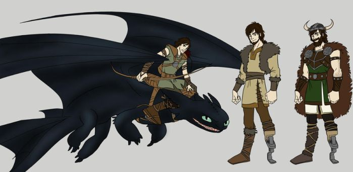 HTTYD: Hiccup by Shuggie