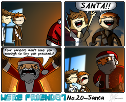 We're Friends? no.20-Santa by harrisonb32