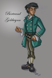 Bertrand Goldwynn by Hydromancerx