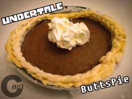 [COOKING TIME]:Undertale Butterscotch Cinnamon Pie by Goomuin