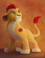 Kion of the Lion Guard by EmpireC2