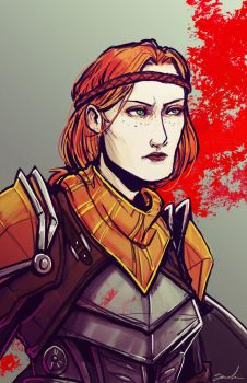 Guard Captain Aveline by lieusum