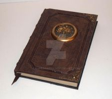 Reddish Brown Tree Tome Book Grimoire Sketchbook 2 by RaptorArts