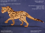 Leopard Otter - Original Species Commission by Nala15
