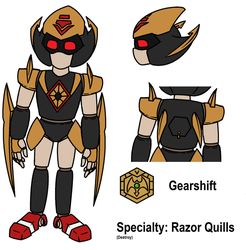 Medabot OC's 5: Gearshift by metalsonic612