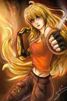Yang Xiao Long by sarahlrn