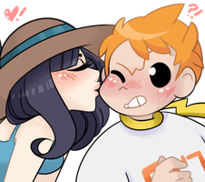 AT: A Cheeky Kiss by YTCTMST