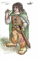 Tolkien's Notes: Trotter by Afalstein