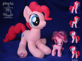 Another Pinkie Pie plushie by SunflowerTiger