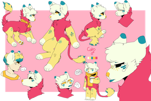 Cato Doodle Ref by kedi94
