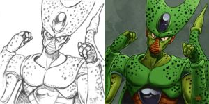 Daily Sketches Cell by fedde