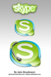 Skype Icons by weboso
