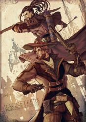 A Mchanzo AU: RACKETEERS by TOYDREAMER