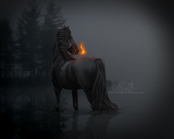LIGHT THE WORLD ON FIRE by ellipsiem