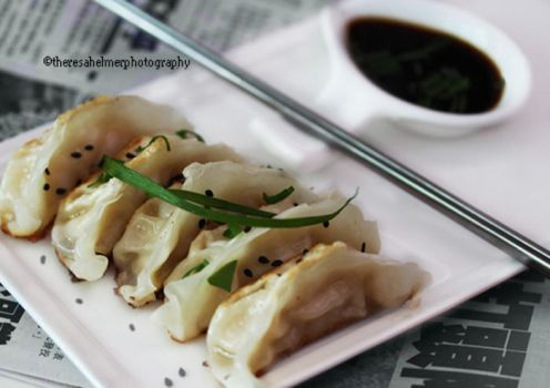 Homemade Pot Stickers I (w/recipe) by theresahelmer