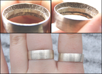 Fifty Cent Piece Rings by bittykate
