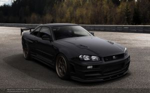 Nissan GTR34 by Cop-creations