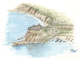 Hypothesis settlement of Scilla (bird's eye view) by Panaiotis