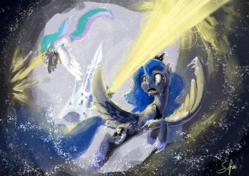 Episode Speedpaint Princesses Vs Clouds by SilFoe