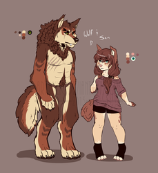 Wolf Meets Girl (Ref) by ARKrylic