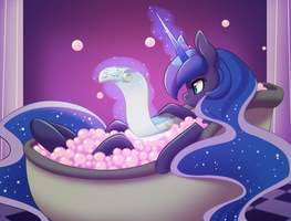Bath Time by DuskyAmore