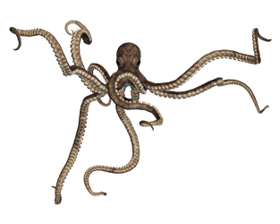 Giant Of The Deep PNG Stock 05 by Roy3D