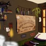 Witch Bedroom by WanderingLola