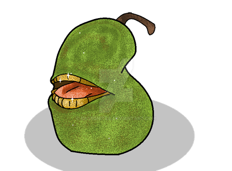 The Biting Pear Of Salamanca by Drugsparr
