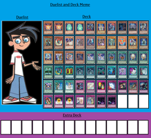 Duelist and Deck - Danny Fenton by MarioFanProductions