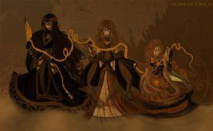 Fate of the Norns by EssenceJota