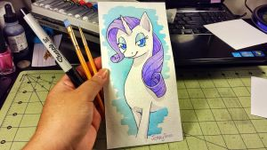 Rarity Watercolor by bloominglove