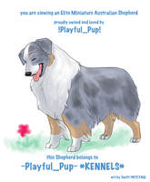FP comm - Playful Pup by swift-whippet