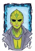 Thane Krios Commission by RichBernatovech