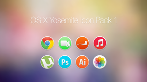 OS X Yosemite Icon Pack 1 by OneOfAyyKind by oneofayykind