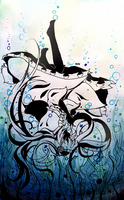 Drowning (2) by NeruenNg