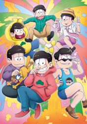 Matsuno brothers! -collaboration with Macgreen- by Loihtuja
